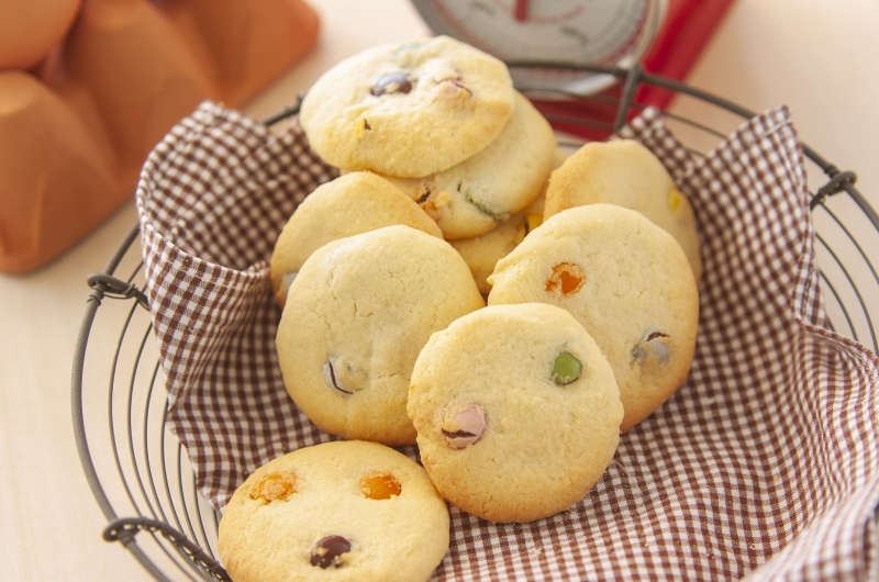 アメリカで出会ったカラフルクッキー