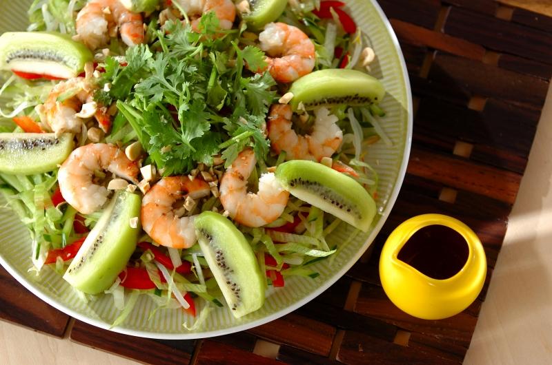 タイ風シーフードサラダ