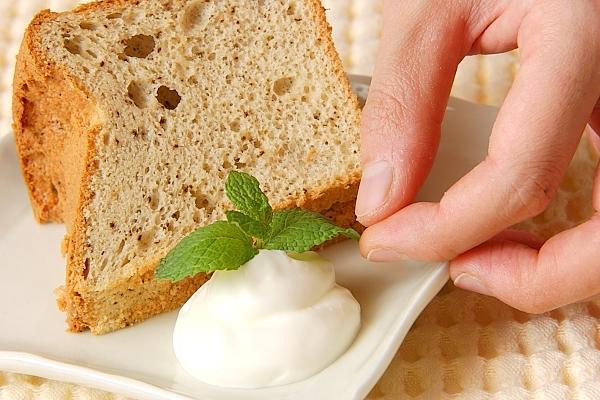 失敗しない!ふわふわ紅茶のシフォンケーキの作り方の手順14