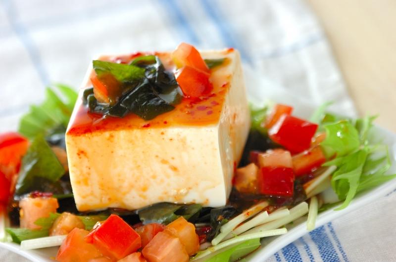豆腐の中華サラダの作り方の手順