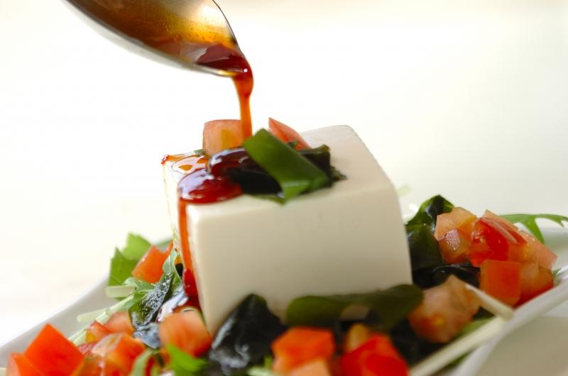 豆腐の中華サラダの作り方の手順4