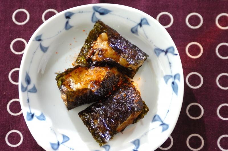 のりチーズ餅の作り方の手順