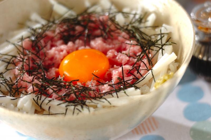 ネギトロ長芋丼