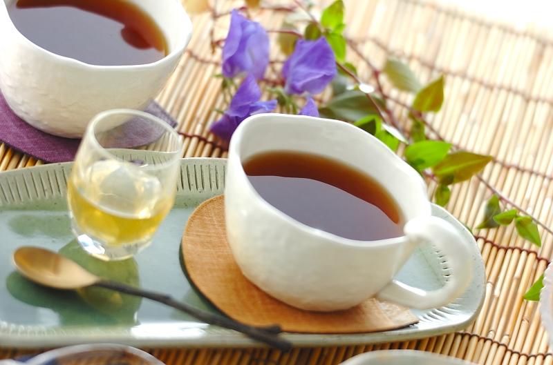 すりおろしショウガとハチミツの紅茶の作り方の手順