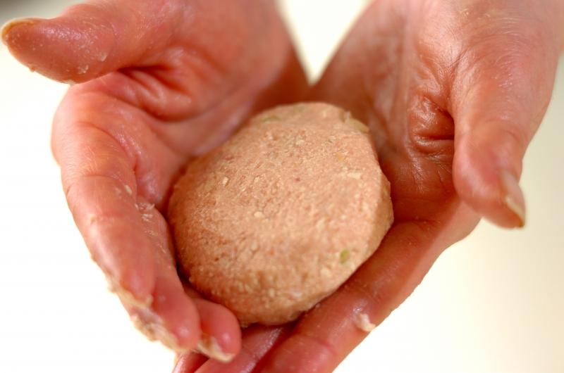 あっさり和風豆腐ハンバーグの作り方の手順5