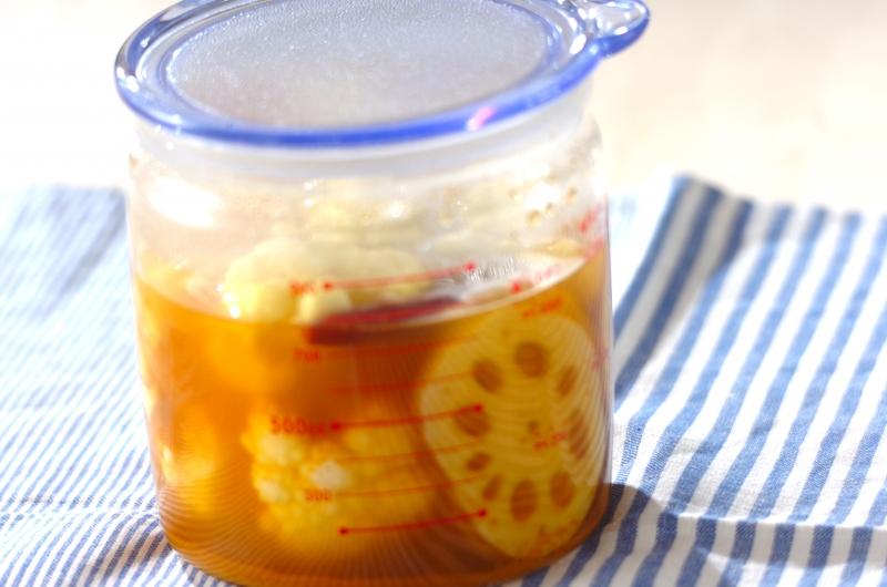冬野菜のカレーピクルスの作り方の手順