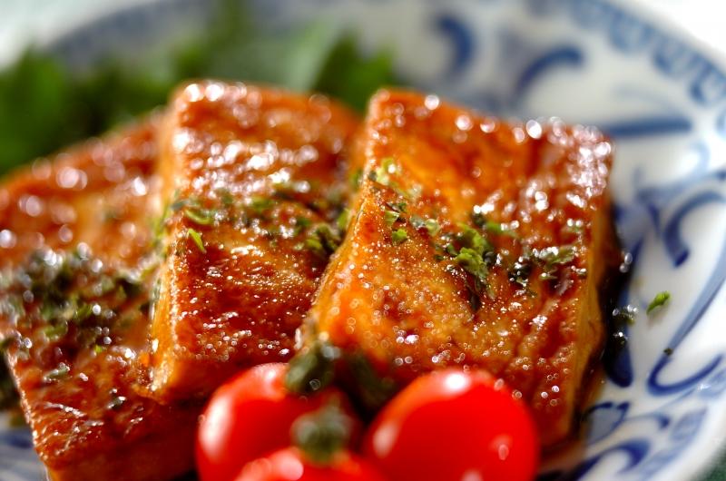 豆腐の照り焼き