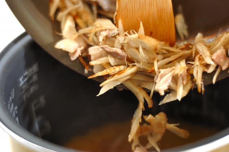 中華風炊き込みご飯の作り方の手順4