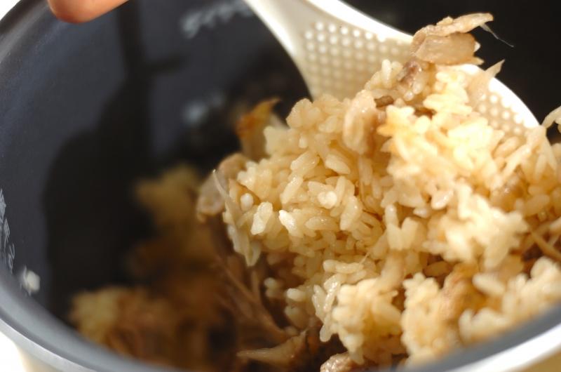 中華風炊き込みご飯の作り方の手順5