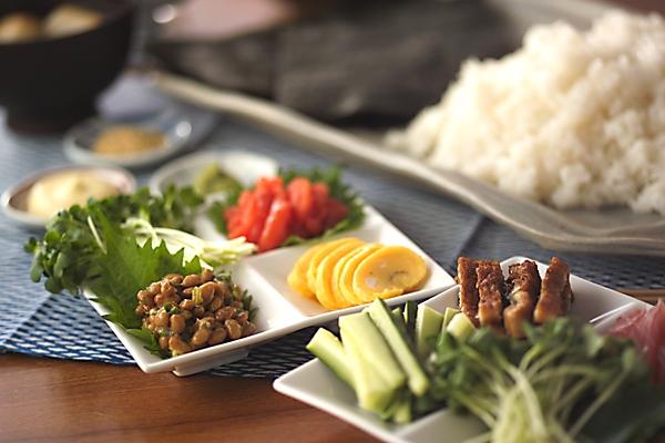 手巻き寿司の作り方の手順