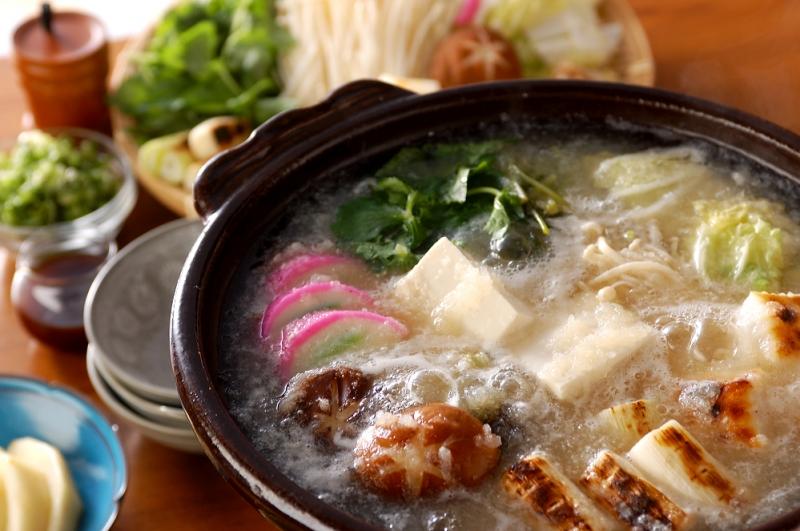 みぞれ湯豆腐