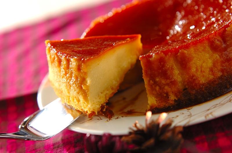サツマイモのプリンケーキの作り方の手順