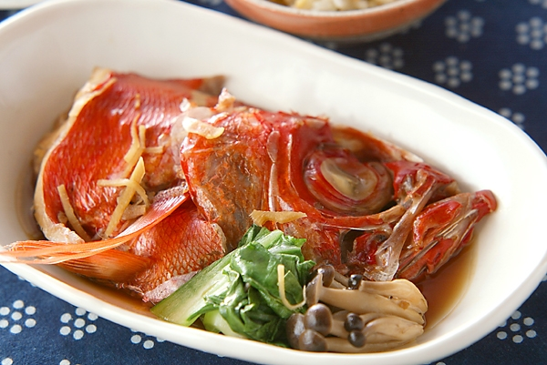 金目鯛の煮付けの作り方の手順
