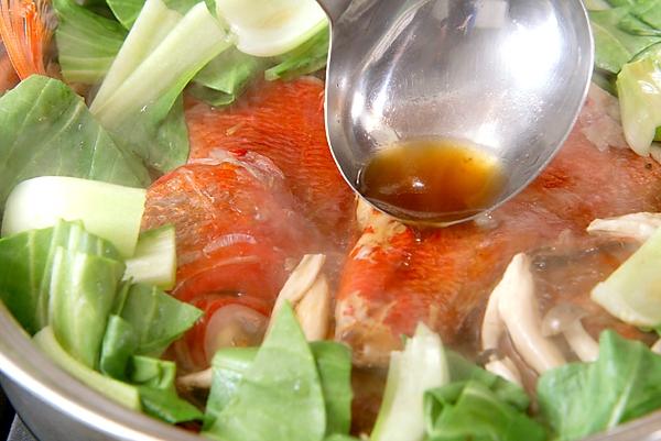 金目鯛の煮付けの作り方の手順7