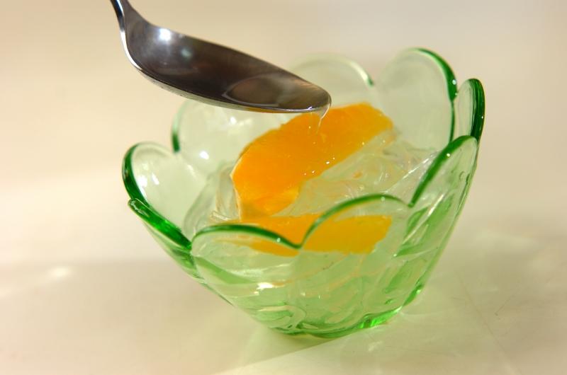 葛きりのオレンジソースの作り方の手順4