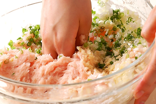 あったか!ショウガ香る鶏つみれ鍋の作り方の手順9