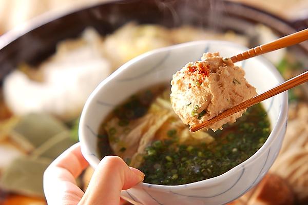 あったか!ショウガ香る鶏つみれ鍋の作り方の手順11
