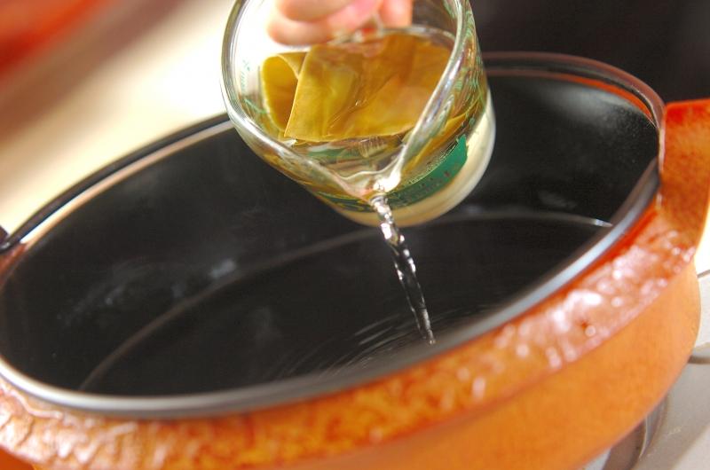 関東風すき焼きの作り方1