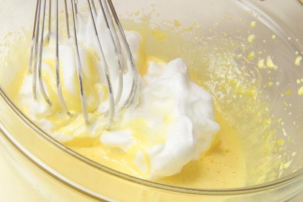 イチゴのフワフワケーキの作り方の手順5