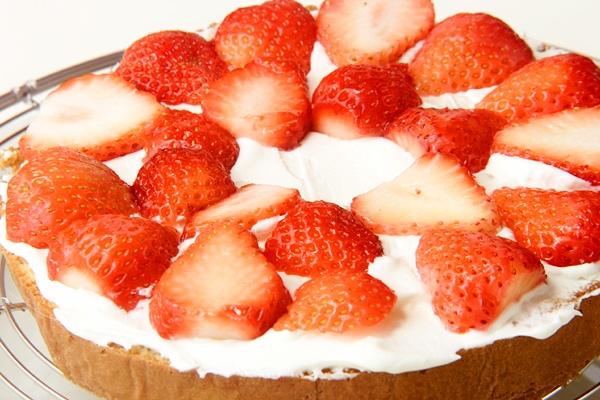 イチゴのフワフワケーキの作り方の手順11