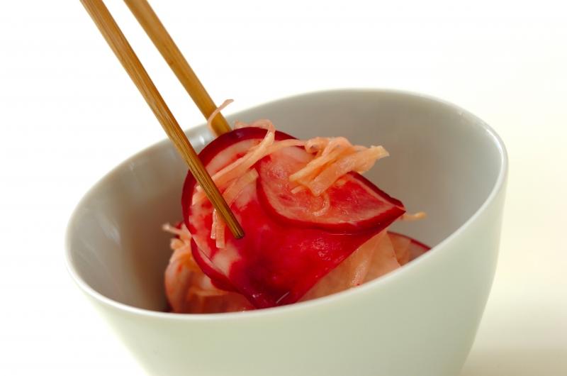 赤カブのジンジャーピクルスの作り方の手順4