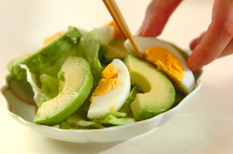 ザーサイドレッシングのアボカドサラダの作り方の手順5
