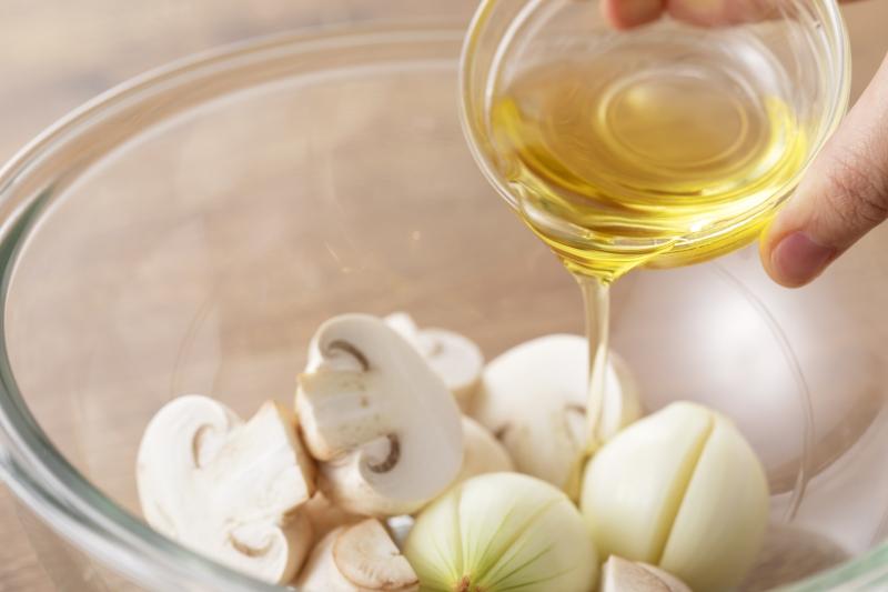 ホワイトソースのローストチキンの作り方の手順4