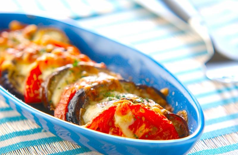 ナス&トマトオーブン焼き