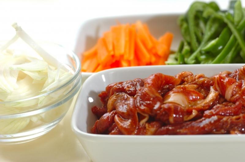 豚肉の甜麺醤炒めの作り方の手順1