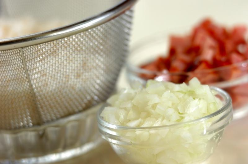 炊き込みチャーハンの作り方の手順1