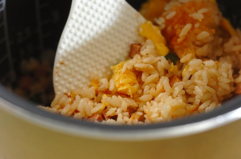炊き込みチャーハンの作り方の手順4