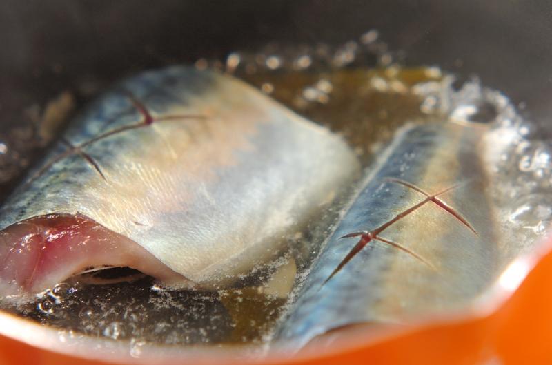 サバのみそ煮の作り方の手順2