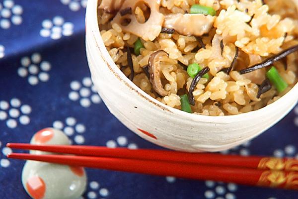 ヒジキご飯の作り方の手順