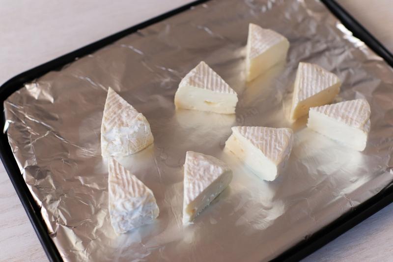 カマンベールとベーコンポテトのデリサラダの作り方の手順4