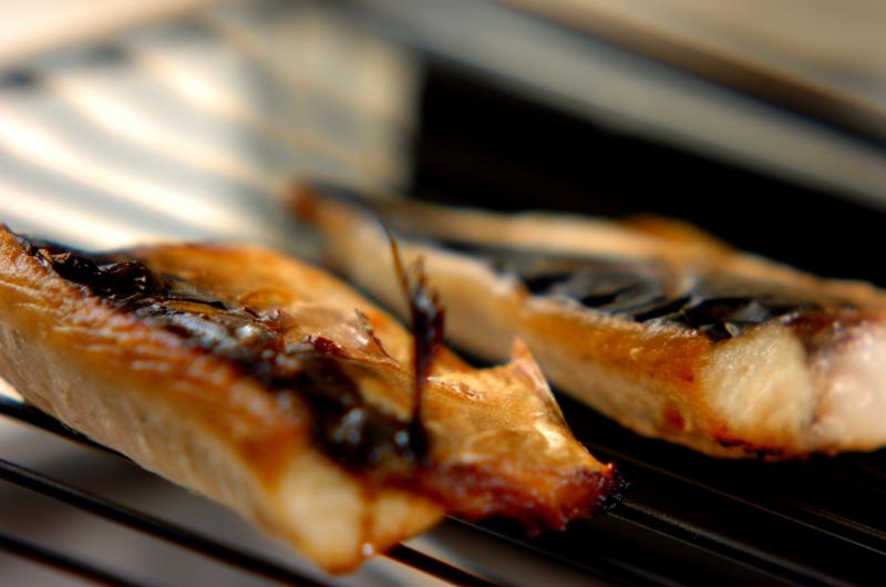 塩サバの焼き物の作り方1