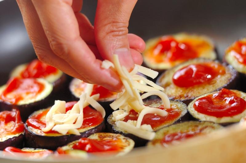 ナスのチーズソテーの作り方の手順3