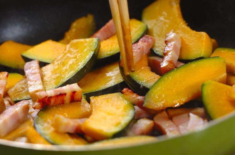 焼きカボチャのサラダの作り方の手順2