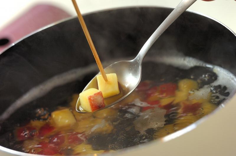 サツマイモとチーズのサラダの作り方の手順2