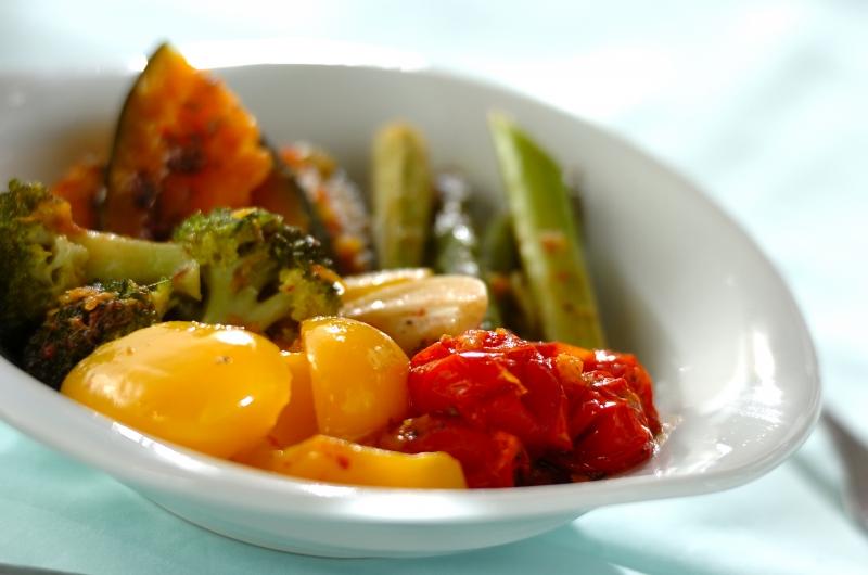 ビタミンたっぷり野菜のオイル煮