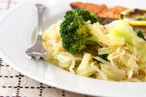 温野菜ゴマドレッシングの作り方の手順