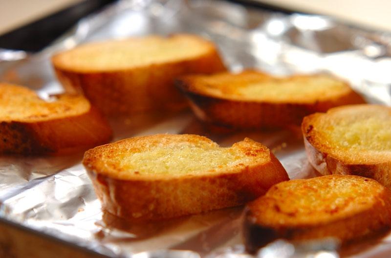 ガーリックトーストの作り方の手順3