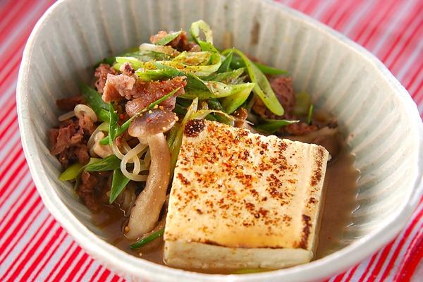 肉豆腐みそ味の作り方の手順