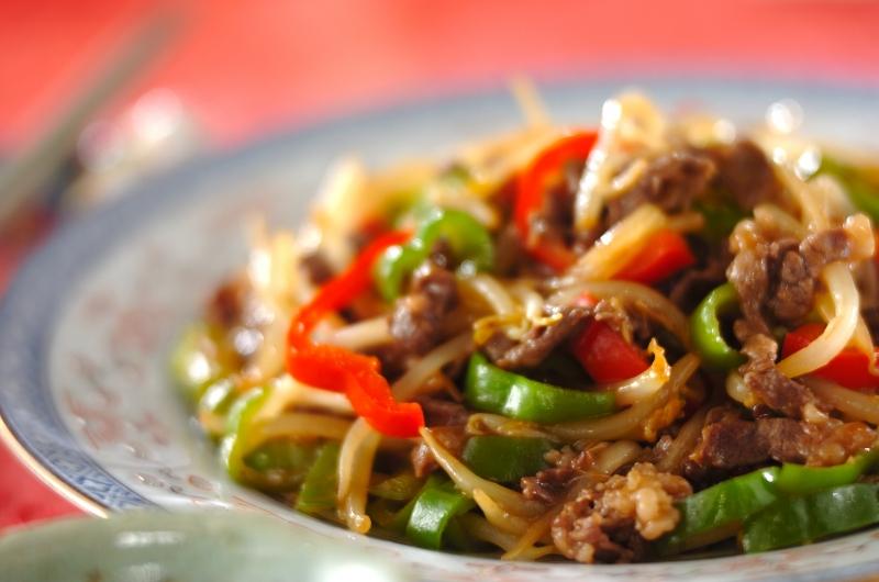 青椒肉絲(チンジャオロース)の作り方の手順