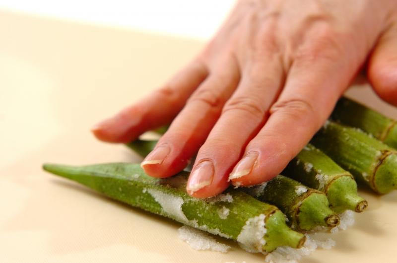 冬瓜とカニカマの煮物の作り方の手順2