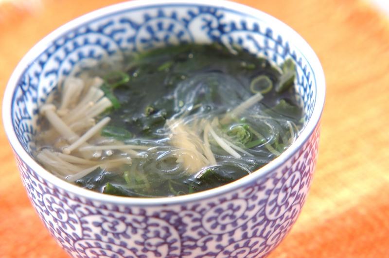 春雨スープの作り方の手順