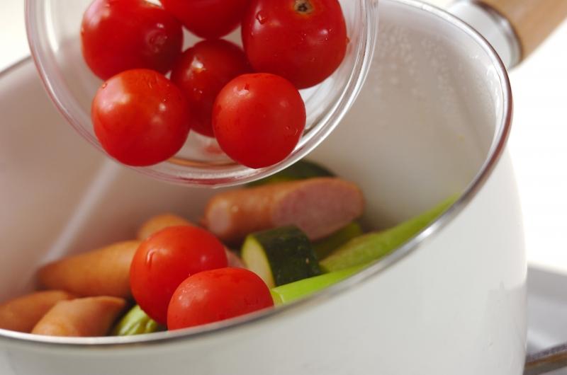 夏野菜のオイル蒸し煮の作り方の手順5