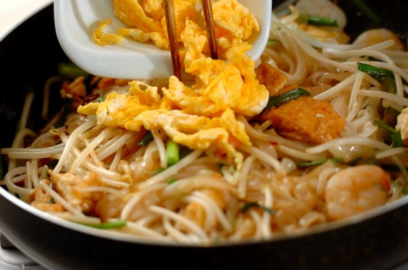 タイ風焼きそばの作り方の手順8