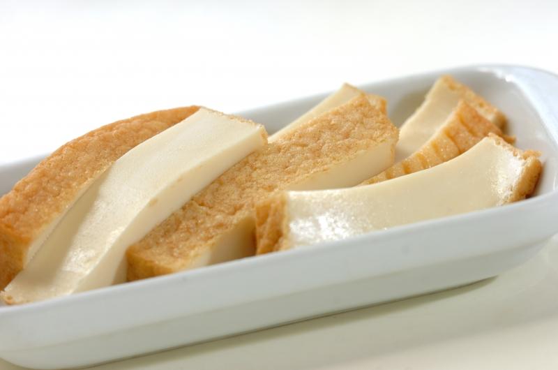 厚揚げのチーズ焼きの作り方の手順1