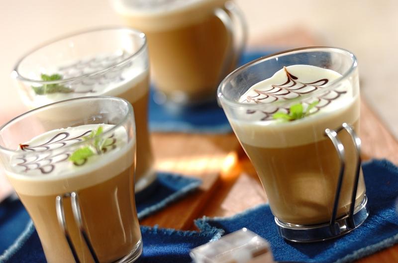 カフェモカババロアの作り方の手順