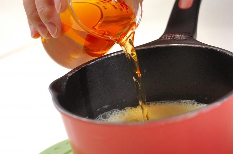 梅酒と豆乳のゼリーの作り方2